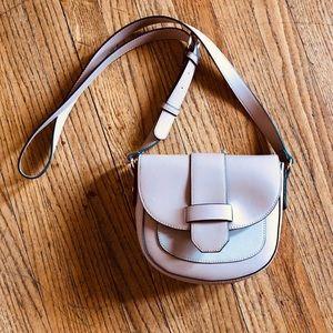 Contrast Piping Crossbody Bag